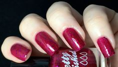 Pretty and Polished - Red, Red Wine-ter