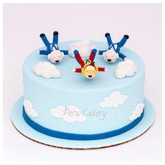 Skydiving / birthday cake Indoor Birthday, 9th Birthday, Birthday Cakes, Birthday Parties, Indoor Skydiving, Galaxy Cake, Retirement Cakes, Big Cakes, Cake Stuff