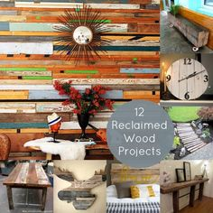 12 Cool DIY Reclaime