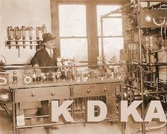 October 27, 1920: KDKA receives the first U.S. broadcast license. [Wikipedia]