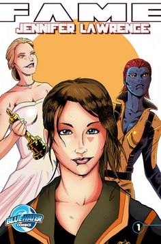 Jennifer Lawrence featured in new comic book