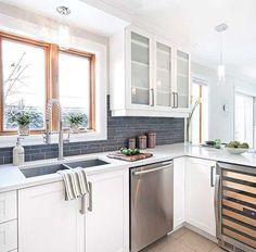 Une cuisine relook e en surface cuisine avant apr s for Decoration avant apres