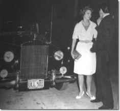 Elvis Presley and Elvis and juliet Prowse : September 12, 1960.
