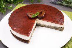 Zwetschgen-Käsesahne-Torte mit Mohnboden - schwarzgrueneszebra