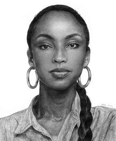 #sade Marvin Gaye, My Black Is Beautiful, Beautiful Voice, The Best Of Sade, Sade Adu, Diamond Life, Women In Music, Celebrity Drawings, Natural Women