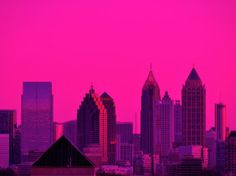 Atlanta in the pink
