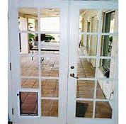 Exterior Door With Built In Pet Door   Bing Images. Basement DoorsPet  DoorPatio ...