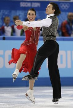 DAY 10:  Cathy Reed and Chris Reed of Japan compete during Figure Skating Ice Dancing Short Program http://sports.yahoo.com/olympics