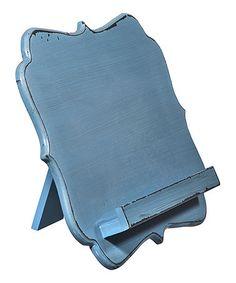 Another great find on #zulily! Blue Cookbook/Tablet Holder #zulilyfinds