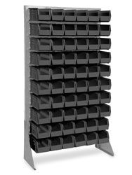 Single Sided Floor Rack Bin Organizer - 11 x 5 x Bins Shipping Supplies, Shipping Boxes, Lucky Streak, Backgrounds, Organization, Flooring, Shipping Crates, Getting Organized, Organisation