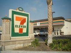 7 Eleven in Miami.  Oh thank heaven for 7 Eleven.