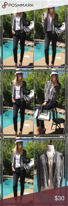 👜Mossimo👜 I want this SO baaaad, it's chic fabulous and so uptown fun!. Rocking with sunnies all summer or those skinnies and shoe candy for evenings out!. Brand new tags!!!!!! Definitely for large to XL easily...not even that big for me only in the shoulders. Mossimo Supply Co Jackets & Coats