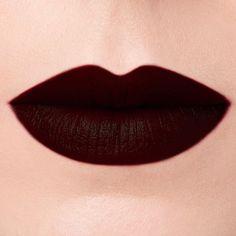 Forbidden Lipstick in 'Fortune Teller' 🌙 Blood Red Lipstick, Deep Red Lipsticks, Brown Lipstick, Matte Lipstick, Burgundy Lipstick, Makeup Geek Eyeshadow, Lip Makeup, Makeup Tips, Fortune Teller Makeup