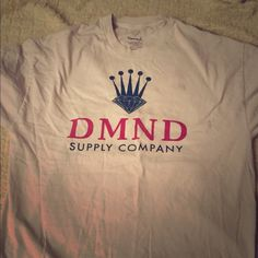Diamond Co. Boyfriend Tee Diamond company boyfriend style tee shirt that is in decent condition with a few small stains as seen in pictures. Please make offers! I will work with you. Diamond Co Tops