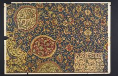 Persian carpet, 16th century (1890–1922). Design lithograph from the Stoddard-Templeton Collection. Copyright reserved