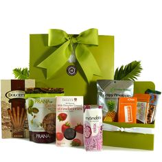 Healthy Gourmet Gifts - Snacks on the Run, $59.00 (http://www.healthygourmetgifts.com/snacks-on-the-run/)