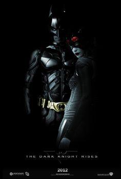 The Dark Knight Rises poster.