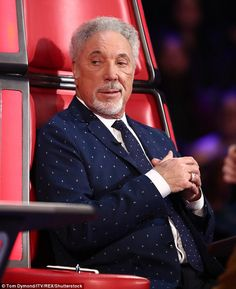 Oops: The contestants took a back seat during Sunday's live final of The Voice as the show descended into chaos with Tom Jones swearing live on air