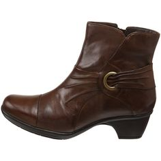 Clarks Women's Rosabelle Boot - designer shoes, handbags, jewelry, watches, and fashion accessories | endless.com