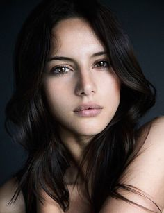 Portrait's of Beauty: Photo Most Beautiful Faces, Beautiful Eyes, Beautiful Women, Brunette Beauty, Hair Beauty, Female Character Inspiration, Tips Belleza, Interesting Faces, Woman Face