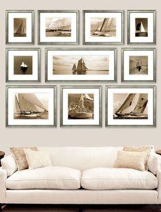 Creative photo wall display ideas to decor your room (9)
