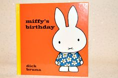 Miffy's Birthday Book & Giveaway