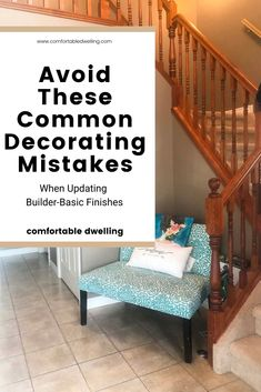 Learn to update your outdated home with these common decorating mistakes many homeowners make. Turn your home from cluttered to stylish with these home decorating tips Interior Design Games, Home Design Decor, Interior Design Services, House Design, Desk In Living Room, Dining Room, Home Styles Exterior, Blue Bathroom Decor, Transitional Home Decor