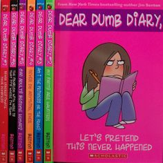 Dear Dumb Diary- Read the hilarious, candid (and sometimes not-so-nice), diaries of Jamie Kelly.