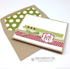 Stampin up stampinup stamp it pretty buy order very merry tag holiday christmas card idea label artison punch