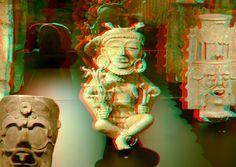https://flic.kr/p/JDG7Ei | MAYA'S Drentsmuseum 3D | Drents Museum Assen anaglyph stereo red/cyan