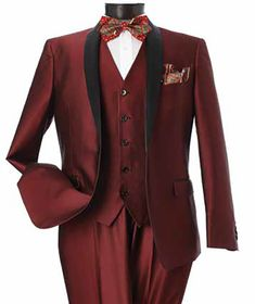 Burgundy 34S - 46S34R - 52R38L - 52L Stylish Mens Fashion, Men's Fashion, Women Church Suits, Church Dresses, Career Wear, Designer Collection, Mens Suits, Burgundy, Suit Jacket
