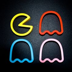 Pac Man cookie cutters.