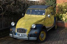 """Citroen 2CV """"Charlie"""" when I first got it (I used to own Charlie)"""