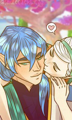 a kiss by smuteczekbiczo