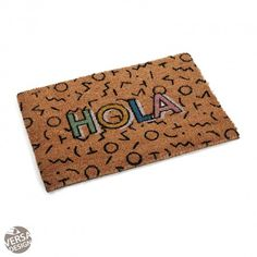 HOLA DOORMAT #doormat #versa #home FELPUDO HOLA #felpudo #hola