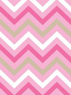 chevron background | iPad-Pink Sand