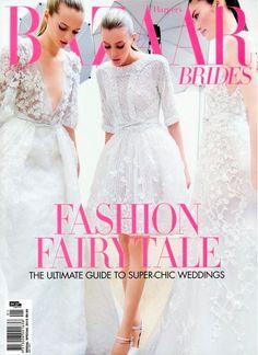 harper's bazaar brides 2012