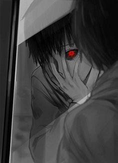 Tokyo Ghoul - Kaneki Ken - First Ghoul transformation Manga Anime, Got Anime, Fanart Manga, Anime Love, Anime Guys, Anime Art, Tokyo Ghoul Uta, Image Tokyo Ghoul, Ghost Stories