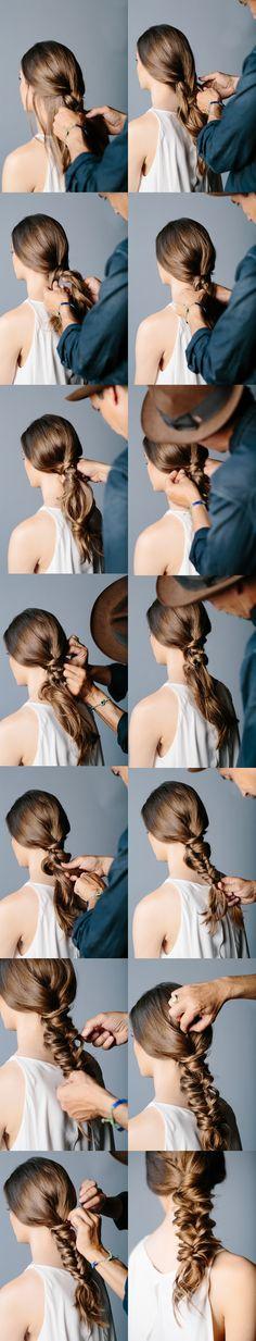 Gorgeous Braided Hairstyle Tutorial