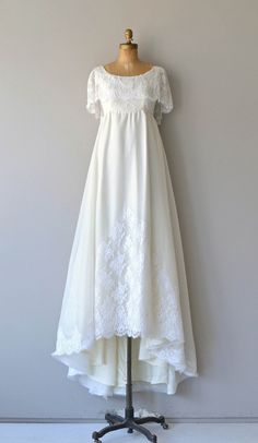 80s vintage wedding dress 1980s wedding gown by for 1970s vintage wedding dresses