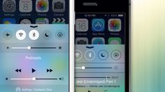 These side-by-side images comparing iOS 7 to iOS 8 highlight some of the biggest changes to Apple's latest mobile operating system. Calendar App, Latest Smartphones, New Tablets, Ios 8, Latest Mobile, Computer Repair, Apple Products, Operating System