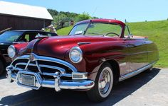 Hudson Hornet by on DeviantArt Vintage Racing, Vintage Cars, Antique Cars, Vintage Auto, My Dream Car, Dream Cars, Hudson Car, Hudson Hornet, Counting Cars