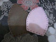 Olá gurias...fiz esta porquinha para enfeitar minha cozinha, ela foi feita de feltro e enchimento.   É só desenhar no feltro com molde, r...