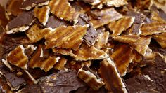 Passover is only a few weeks away -Caramel Matzoh Crunch   25 Delicious Ways To UseMatzoh