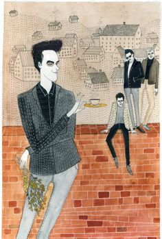The Smiths?  (Artist: Yelena Bryksenkova)