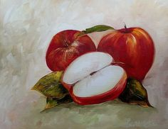 Large Original Modern Halloween Abstract Oil Painting Art Wall Home Decor Canvas Modern Halloween, Oil Painting Abstract, Apples, Canvas Art, Wall Decor, Drawings, Kitchen, Room Wall Decor, Sketches