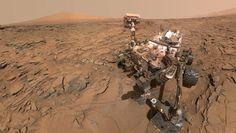 As fotos de Marte ficaram ótimas. Quem tirou foi um robô chamado Curiosity…