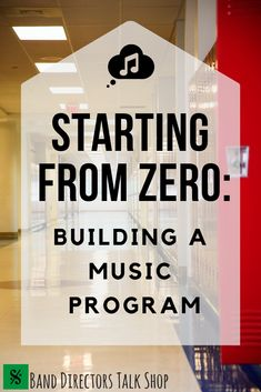 Building a music program for your school from the ground up can be a VERY daunting task. Where do you start? What are the essentials for your band or choir program? Check out this article for some key components to consider when you Middle School Choir, Music School, High School Band, Music Lesson Plans, Music Lessons, Music Education, Health Education, Education Quotes, Physical Education