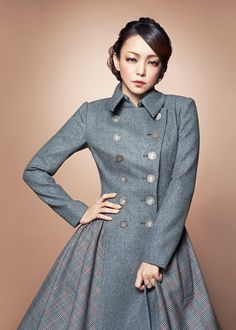 Photo by shirley_amuro Cool Websites, Girl Power, Cool Girl, Chef Jackets, Formal, Lady, Coat, Beauty, Dresses