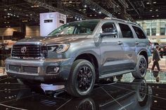 2019 Toyota Sequoia TRD Sport, Limited and Platinum - Car Announcements Nissan Nismo, Nissan Altima, Toyota Trucks, Toyota Cars, Toyota 4, Nissan Electric, Best Suv, Audi Cars, Autos